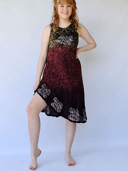 batik dress made in nepal for wholesale himalayan