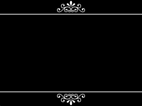 ppt background ornament black ppt background holidays