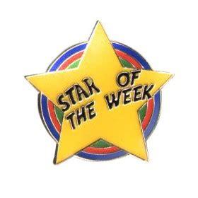 printable star of the week badge star of the week badge pack of 5 school merit stickers