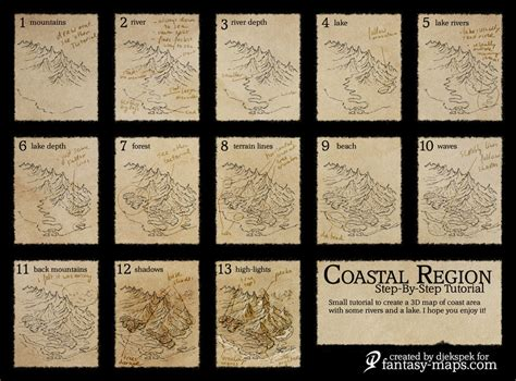 tutorial typography map fantasy map step by step tutorial by djekspek on deviantart