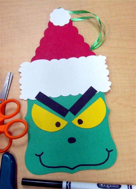 felt grinch pattern grinch school party christmas workshop pinterest