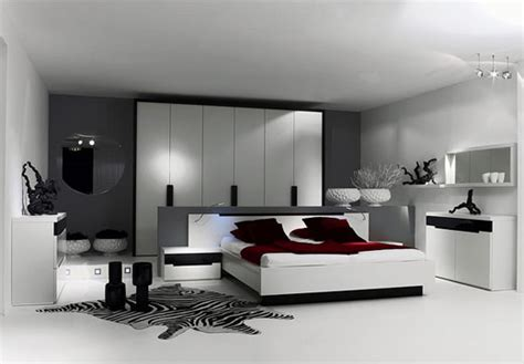modern white bedroom furniture home designs project