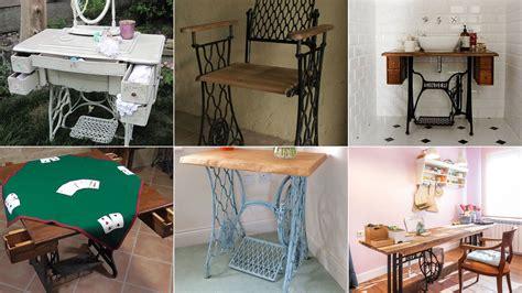 ideas faciles para coser a maquina ideas para reutilizar m 225 quinas de coser antiguas