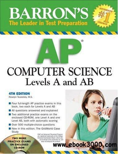 barron s ap computer science a 8th edition with bonus tests books barron s ap computer science 4 edition free ebooks