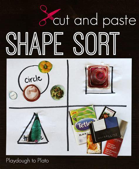 cutting pasting games 3세 즐거운 영어미술놀이 cut and paste shape game 네이버 블로그
