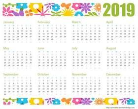 Yearly Calendar 2019 Printable 2019 Calendar Printable Template Printable 2017 Calendar