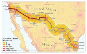 map us states bordering mexico gallery swccar