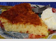 Impossible Coconut Pie - Joyofbaking.com *Video Recipe* Impossible Chocolate Coconut Pie Recipe