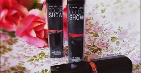 Lipstik Maybelline Asli indonesia by via han review maybelline color show lipstick