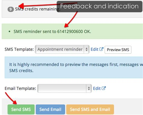 Support Documentation Appointment Reminders Clinicwise Appointment Reminder Email Template