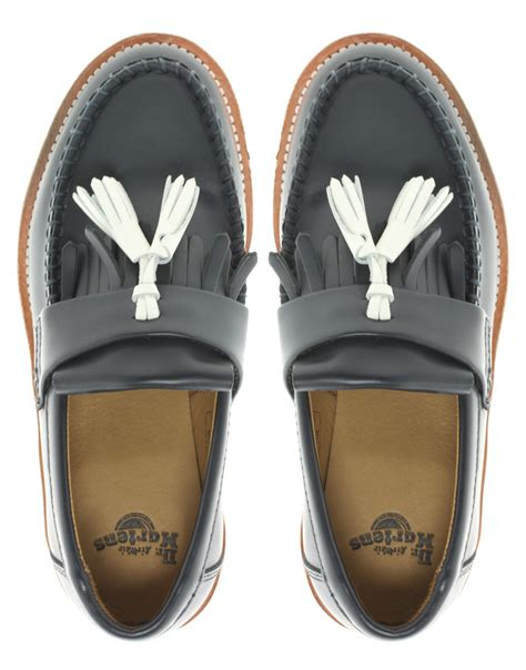 dr martens loafers with tassels dr martens dr martens barrett tassel loafers in
