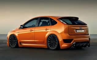Orange Ford Orange Ford Focus St Ford Focus Mk2 Wallpaper Johnywheels