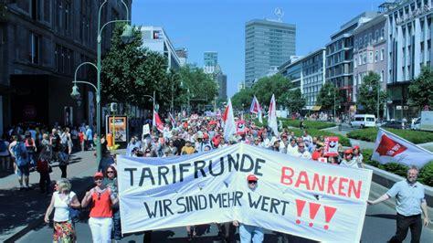 tarifrunde banken ver di tarifrunde banken