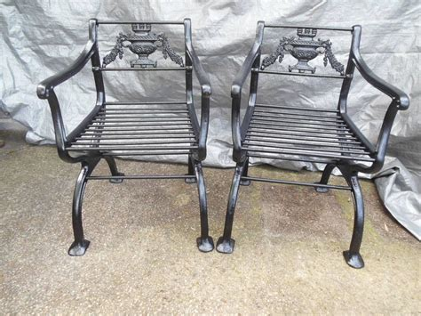 cast iron bench for sale antique cast iron regency garden set bench and chairs for