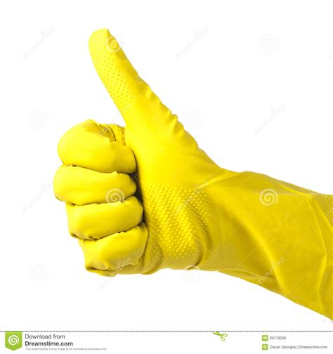 2d Kitchen Design household yellow gloves royalty free stock image image