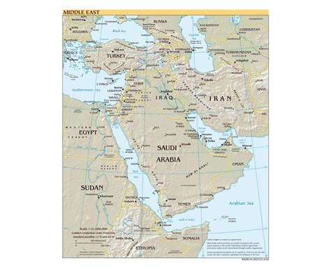 middle east map major cities maps of the middle east middle east maps collection of