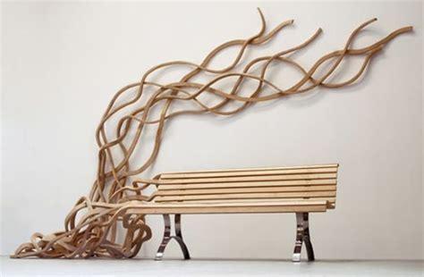 artistic furniture creative custom wood benches chairs