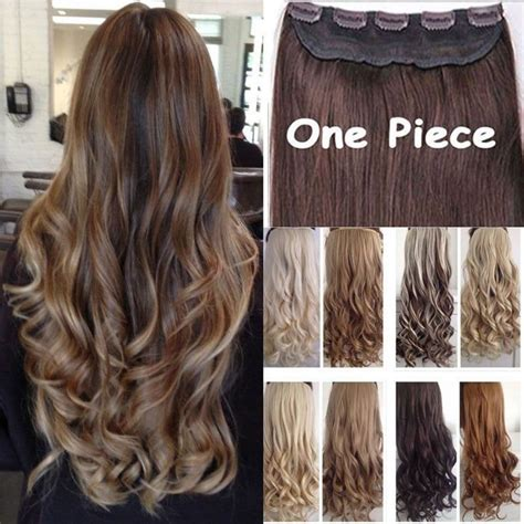 best clip in hair extensions for thick hair aliexpress buy clip in hair extension half
