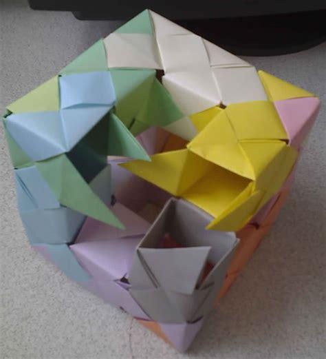 Menger Sponge Origami - origami fractals