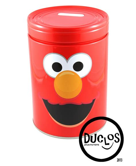 Coin Bank Elmo By Markasmainan by Duclos Toys Figures Collectibles Toys