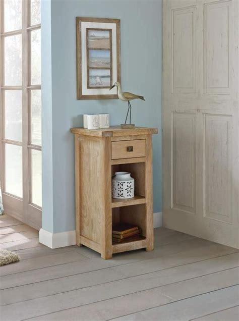 Dunelm Interiors by Henley Washed Oak Telephone Table Dunelm Washedoak