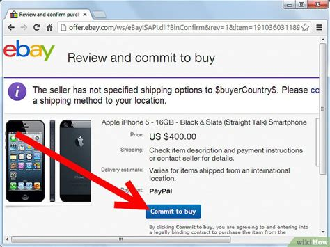 how to make an ebay account without a credit card come fare acquisti su ebay utilizzando paypal wikihow