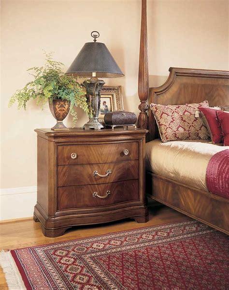 American Drew Bob Mackie Home Classics Sleigh Leather Bob Mackie Bedroom Furniture