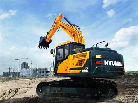 hyundai excavator specs hx180 l crawler excavator hyundai construction equipment