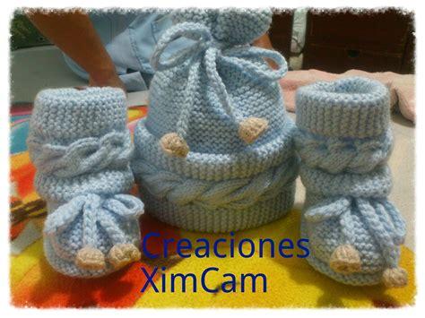 batitas en crochet y dos agujas para bebes 180 00 en mercadolibre segunda parte botitas tejidas a dos agujas gorros y ropa