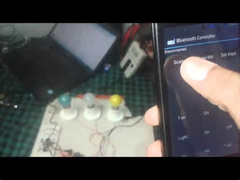 bluetooth controlled home automation using 8051