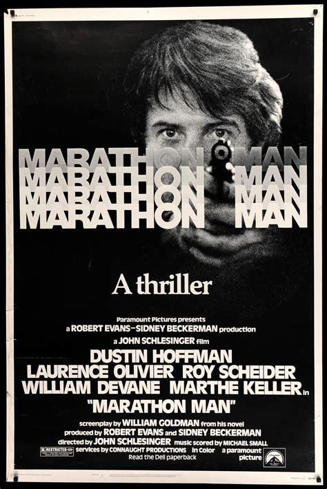 marathon man marathon man 1976 original forty by sixty movie poster original film art vintage movie posters