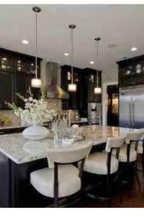dark cabinets paired with light granite re model ideeeas light granite dark cabinets kitchen pinterest