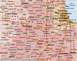 central map of towns map of central illinois cities pictures to pin on