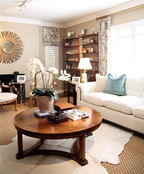 how to decorate a round coffee table 5 easy tips for a budget friendly home renovation