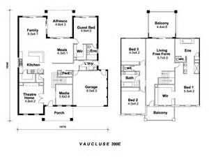 double storey floor plans double storey house plans designs