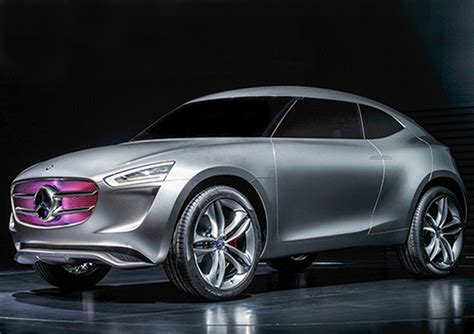 new mercedes concept car is powered by its paint