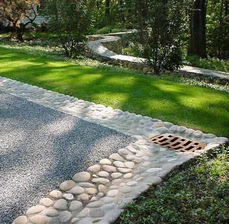 Driveway Gardens Ideas Drainage Driveway Landscaping Ideas Park Landscape Design Driveways Auto Court Drive