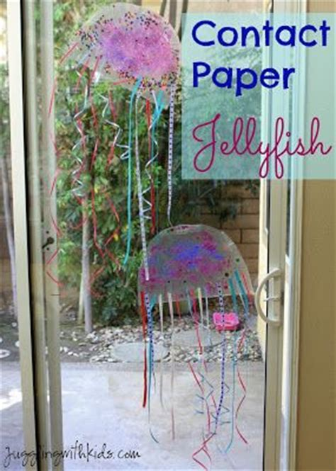 Crafts With Contact Paper - 28 best images about fiar of the moonjellies on