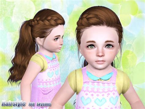 skysims hair child 188 sims 3 pinterest skysims hair 188