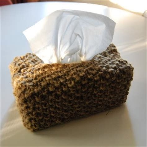 tissue knit knitknotnat mrs sniffles knitted tissue box cover