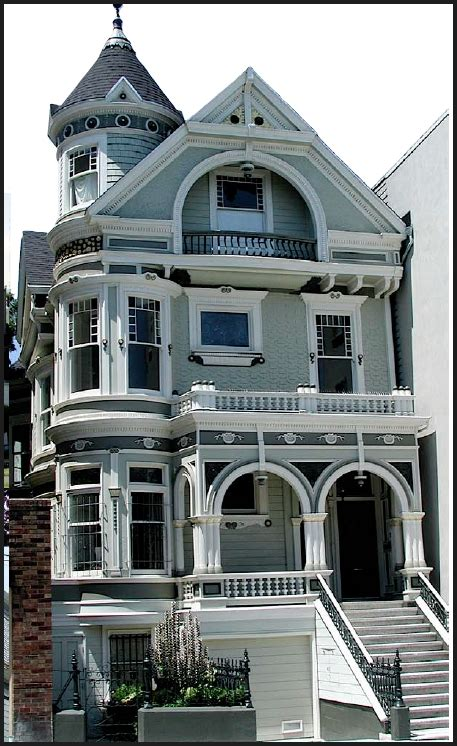 Italianate Style House by Victorian Edwardian Architecture In San Francisco