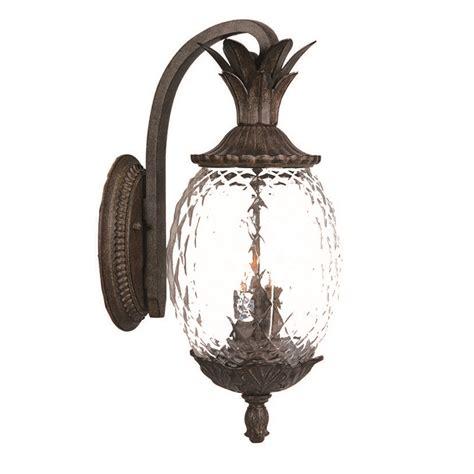 Pineapple Outdoor Light Fixtures Acclaim Lighting 7512bc Outdoor Wall Lighting Lanai