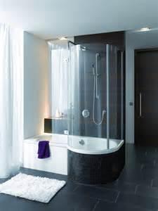 Bette shower bath with matching bette screen