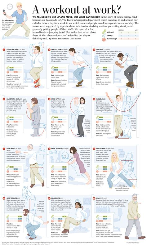 Office Exercises Fitness Pinterest Office Exercise Desk Stretches At The Office
