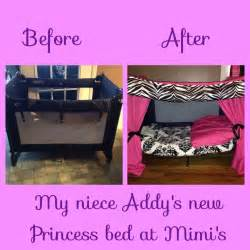 Diy Toddler Bed From Pack And Play Pack N Play Makeover My Projects Skirts