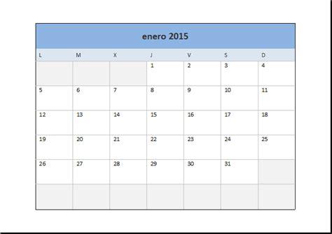 Calendario Excel 2015 Calendarios Para Imprimir Anual 2015 Imagui