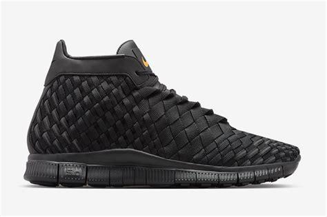 Nike Free Inneva Waven Premium Quality nike free inneva woven mid black sneaker bar detroit
