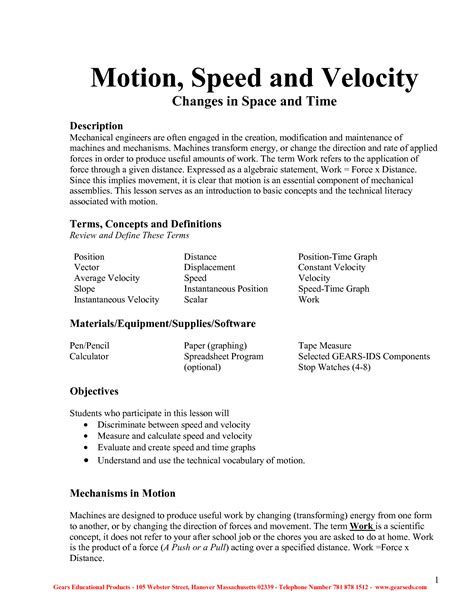 Speed And Velocity Problems Worksheet Answers by 28 Speed Velocity And Acceleration Calculations