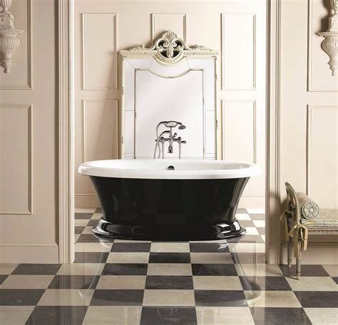 Black And White Checkered Bathroom Floor by 10 Dreamy Interiors With Black And White Checkered Floor