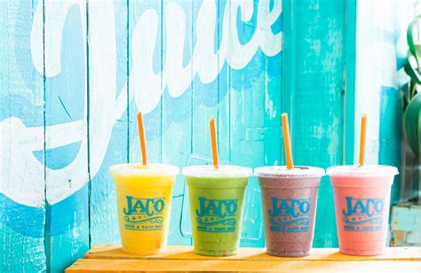 Juicer Jaco jaco juice and taco bar our